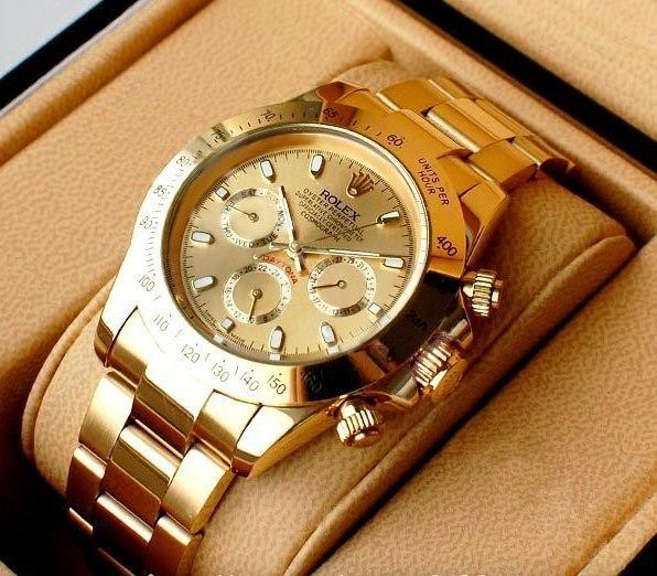 26d6aa6b1cea Мужские часы Rolex DayTona - цвет золота купить, цена  3501.00 руб ...